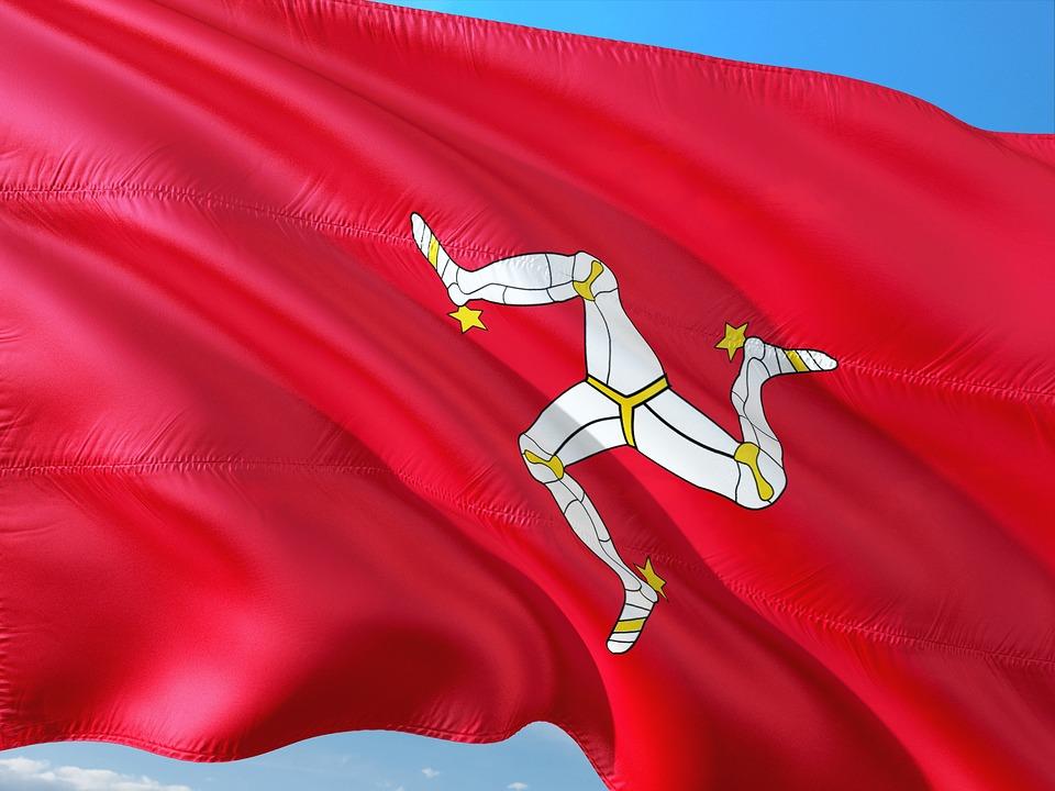 マン島国旗 ロイヤルロンドン(RL360)が登記するマン島